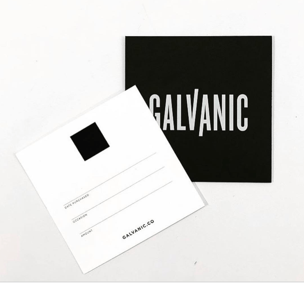 Gift Card - Galvanic.co