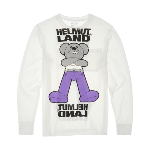 Helmut Land Mascot Long Sleeve Tee - Galvanic.co