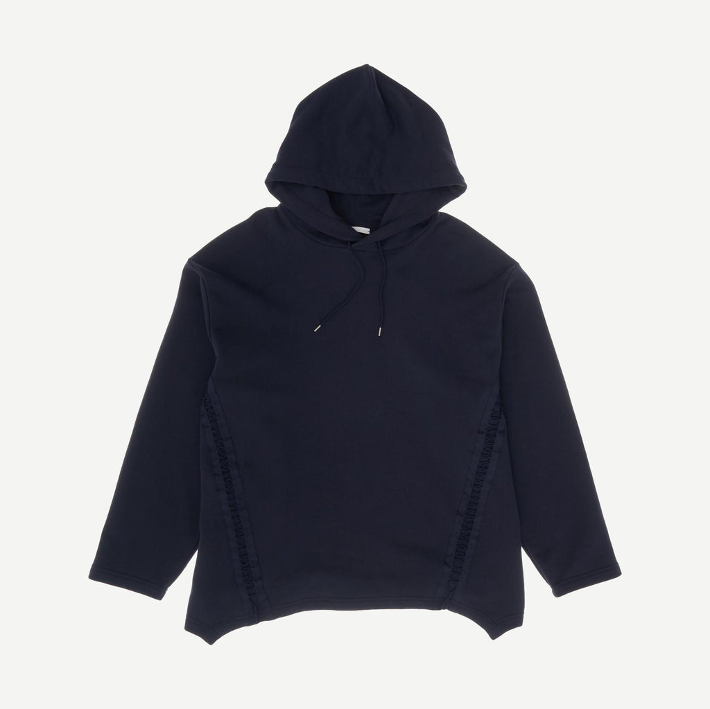 Laced Hoodie Loose Fit in Admiral Blue - Galvanic.co