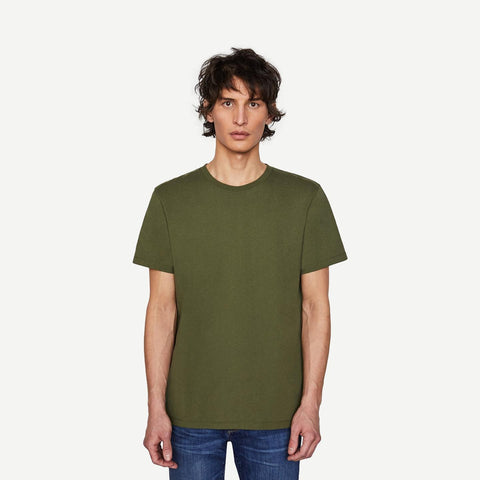 Frame Logo Tee in Rifle Green - Galvanic.co