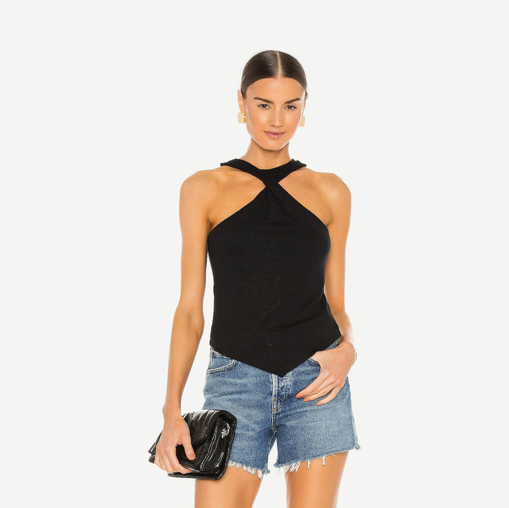 Holter Top in Black - Galvanic.co