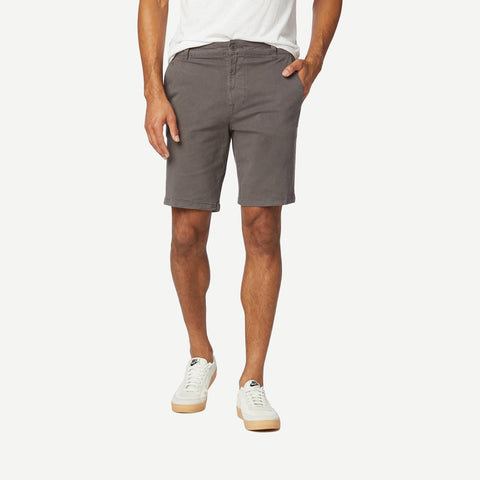 Relaxed Chino Short Dark Grey - Galvanic.co