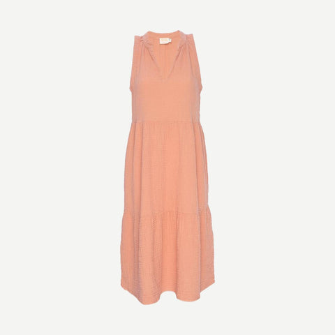 Nadie Dress in Pink Gauze