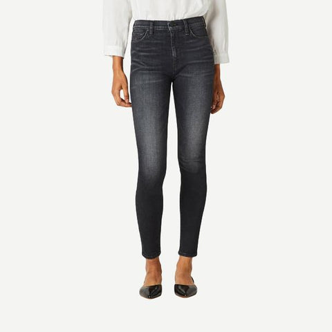 Barbara High-Waist Super Skinny Ankle Jeans in Harvest Moon - Galvanic.co