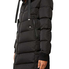 Rachela knee-length sporty down coat - Galvanic.co