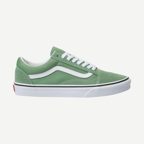 Old Skool Shale Green/True White - Galvanic.co