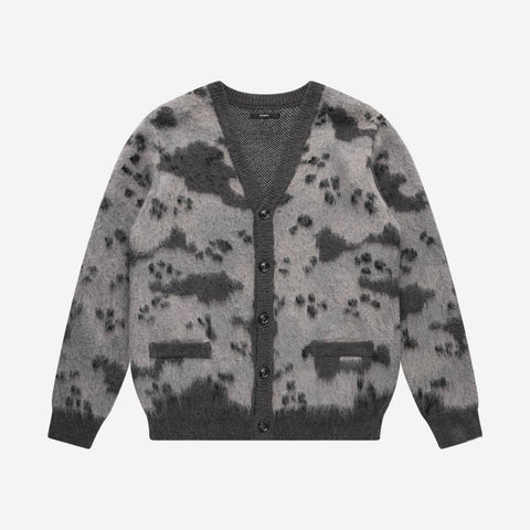 Desert Camo Cardigan Black - Galvanic.co