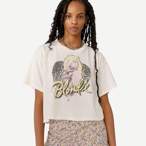 Blondie Animal Heart Cropped Tee - Galvanic.co