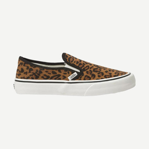 Slip-On SF in Suede Leopard