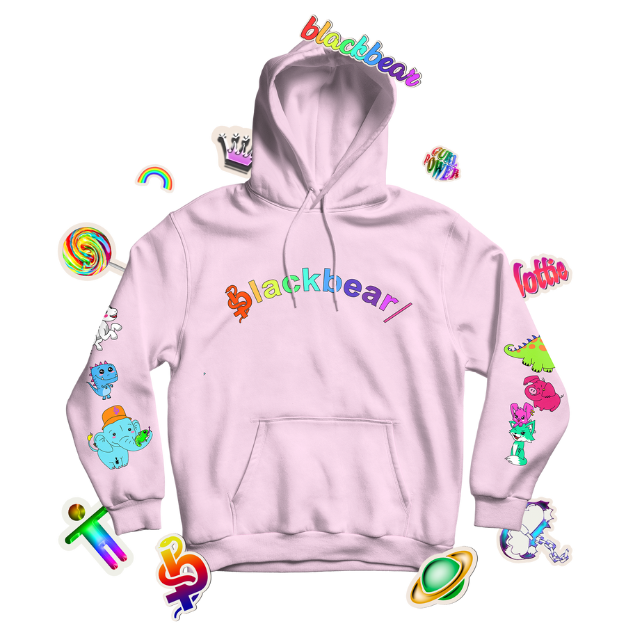 Anxiety Free Hoodie (LIGHT PINK)