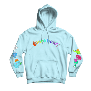 Anxiety Free Hoodie (Baby Blue)
