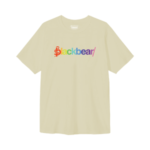 RAINBOW LOGO CREAM TEE