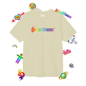 Rainbow Cream Logo Tee