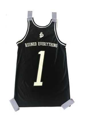 The 1 Custom Jersey (Black)