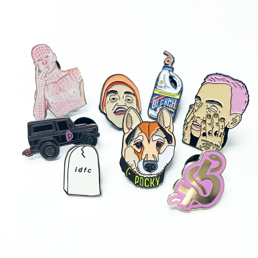 Blackbear Pin Pack