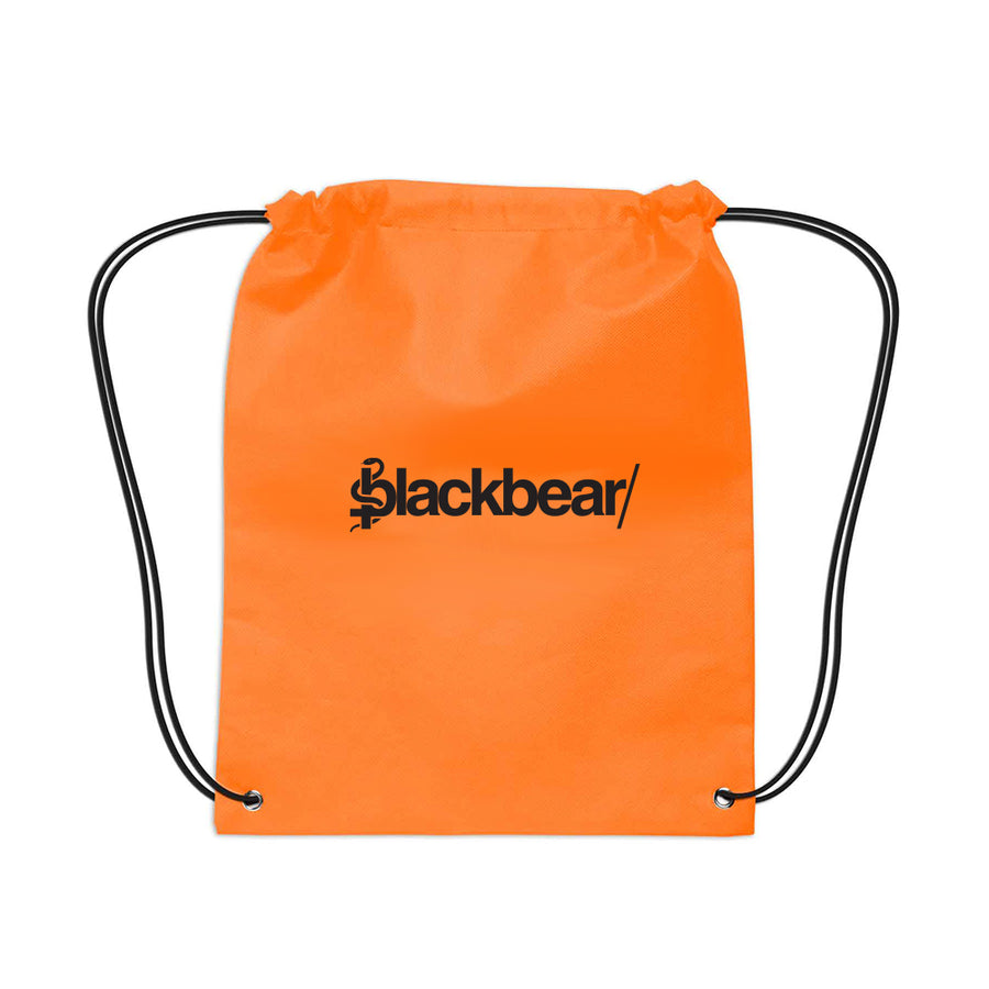 Orange Blackbear Back Pack