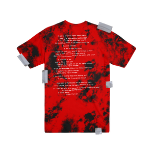 Swear To God Red Dyed Tee