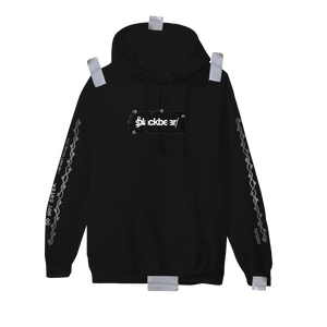 Cybear Monday Patch Hoodie (Black)