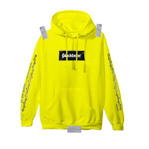 Cybear Monday Patch Hoodie (Neon Yellow)