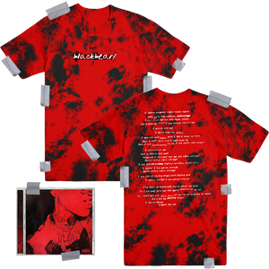 Anonymous Album Swear To God Bundle (Tie Dye T Shirt)