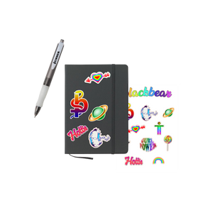 JOURNAL, PEN, STICKER BUNDLE