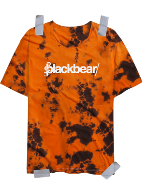 Orange Logo Dyed Tee