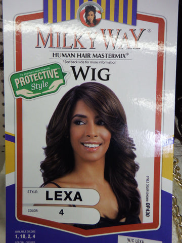 Human Hair Mix/ Lexa