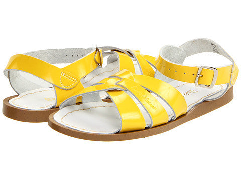 Salt-Water - Shiny Yellow by Hoy - Ponseti's Shoes