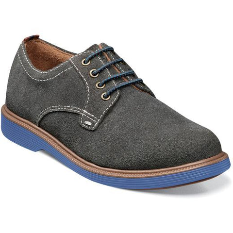 Supacush Jr - Gray Suede by Florsheim - Ponseti's Shoes