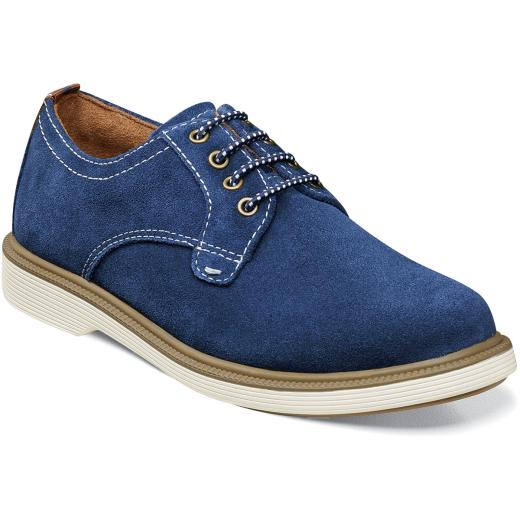 Supacush Jr - Navy Suede by Florsheim - Ponseti's Shoes