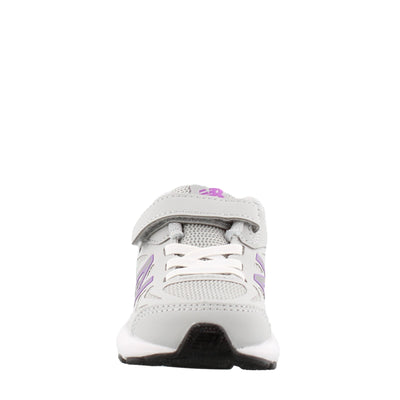 519v1 Velcro - Aluminum / Violet by New Balance - Ponseti's Shoes