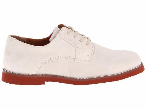 Kearny Jr - White Buck by Florsheim - Ponseti's Shoes