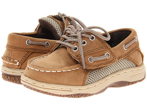 Billfish Velcro - Dark Tan by Sperry - Ponseti's Shoes