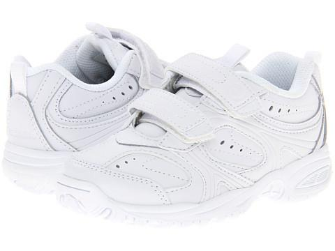 Cooper - White - Velcro by Stride Rite - Ponseti's Shoes