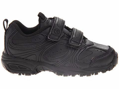 Cooper Velcro - Black by Stride Rite - Ponseti's Shoes