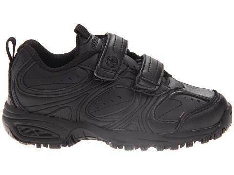 Cooper - Black - Velcro by Stride Rite - Ponseti's Shoes