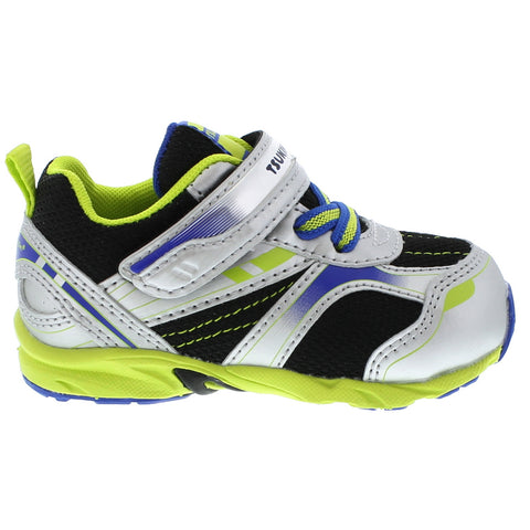 Sport - Silver / Lime by Tsukihoshi - Ponseti's Shoes