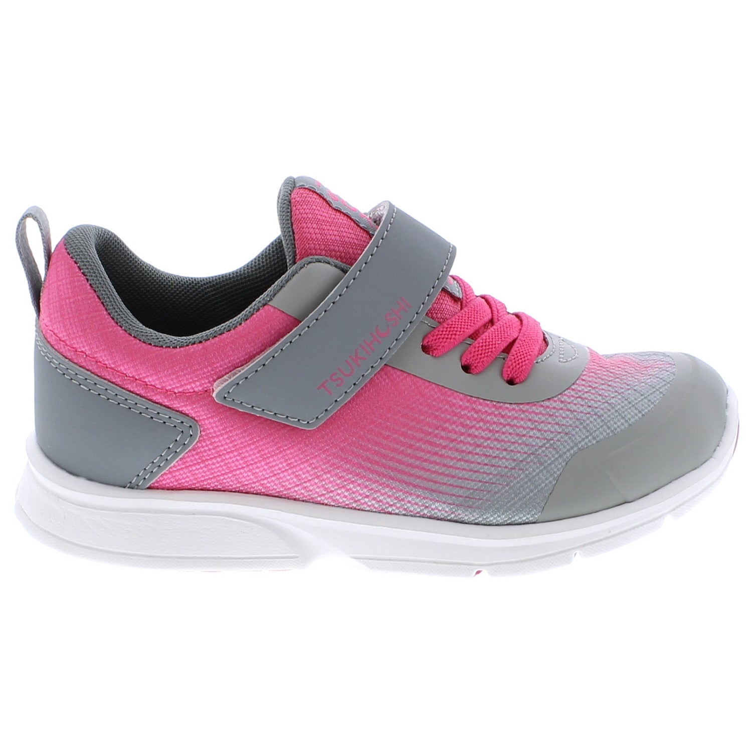 Turbo - Fuchsia / Gray by Tsukihoshi - Ponseti's Shoes