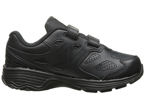 Cross Trainer Velcro - Black by New Balance - Ponseti's Shoes