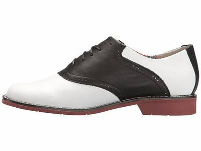Dora - White & Black by G.H. Bass - Ponseti's Shoes