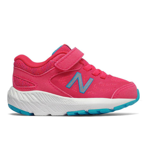 519v1 Velcro - Hot Pink by New Balance - Ponseti's Shoes