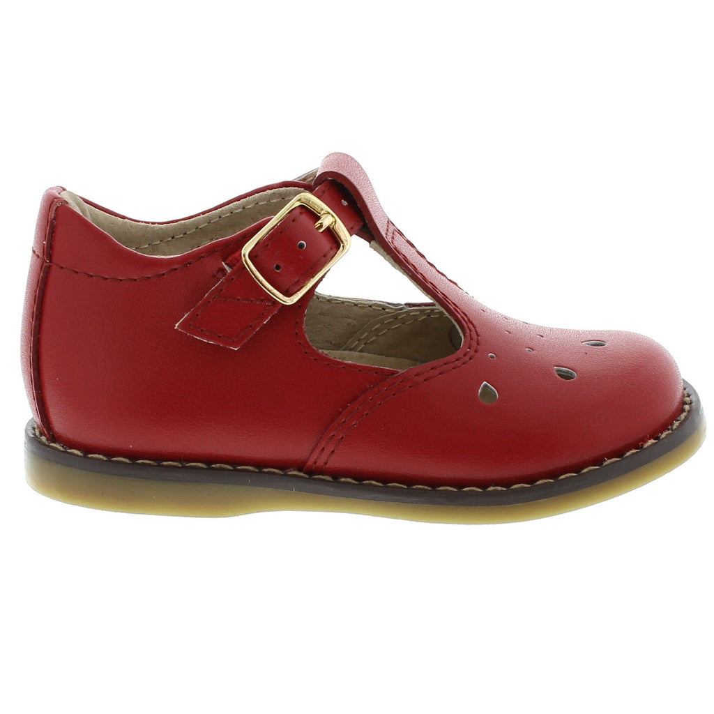82e8ae74567b5 Harper - Red by Footmates - Ponseti s Shoes