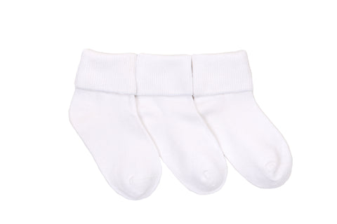 Stride Rite Fold-Over Sock (3 Pack) by Stride Rite - Ponseti's Shoes