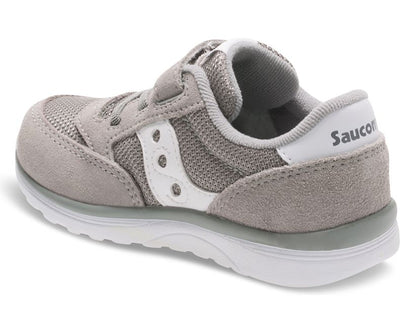Baby Jazz Lite - Grey by Saucony - Ponseti's Shoes