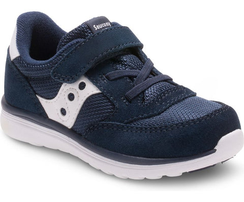 Baby Jazz Lite - Navy by Saucony - Ponseti's Shoes