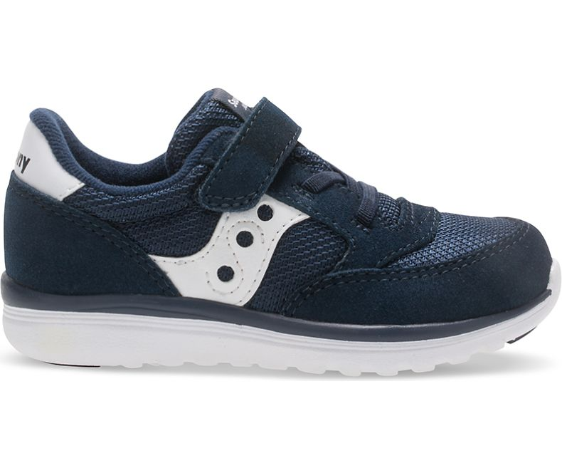 Baby Jazz Lite - Navy FINAL SALE by Saucony - Ponseti's Shoes
