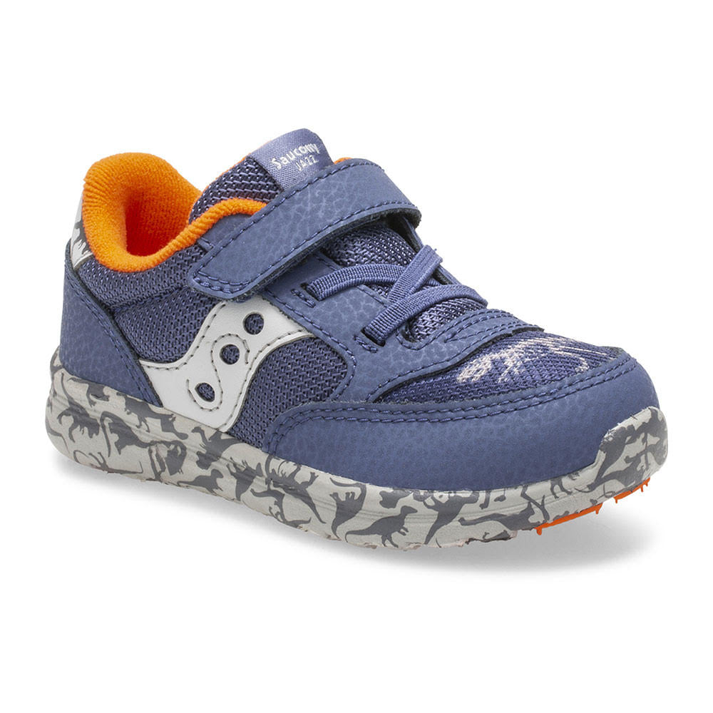 Baby Jazz Lite - Dinosaur by Saucony - Ponseti's Shoes
