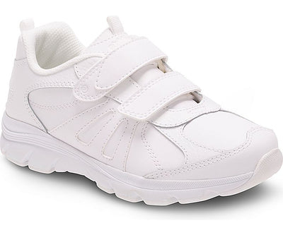 Cooper 2.0 Velcro - White by Stride Rite - Ponseti's Shoes