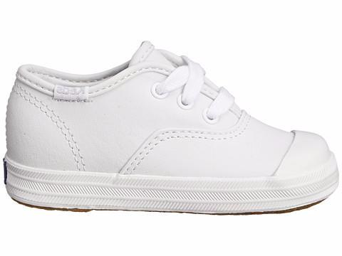 Champion - White Leather by Keds - Ponseti's Shoes