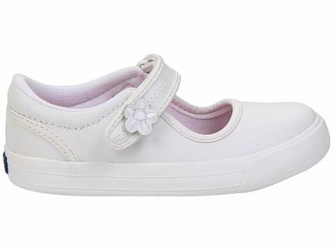 Ella - White by Keds - Ponseti's Shoes